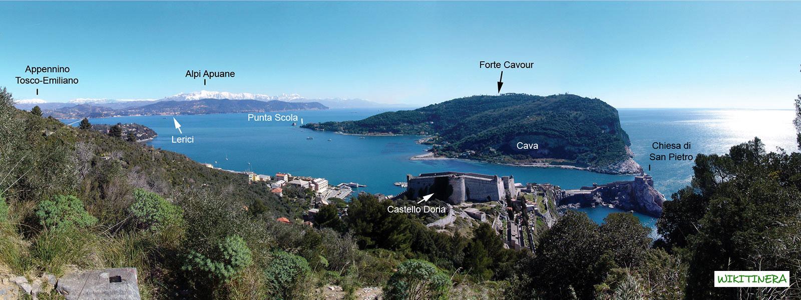 Paesaggio del Golfo di  Portovenere