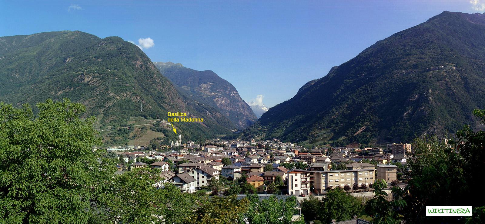 Paesaggio di Tirano