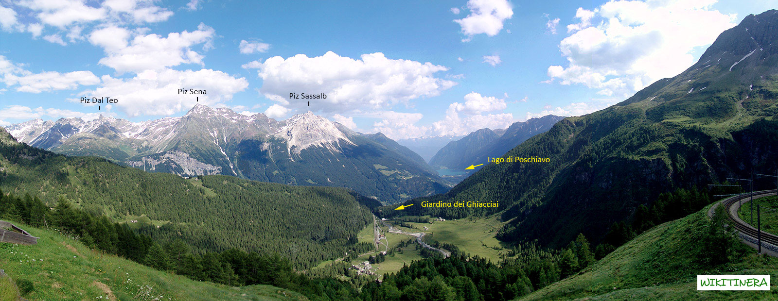 Paesaggio da Alp Grum