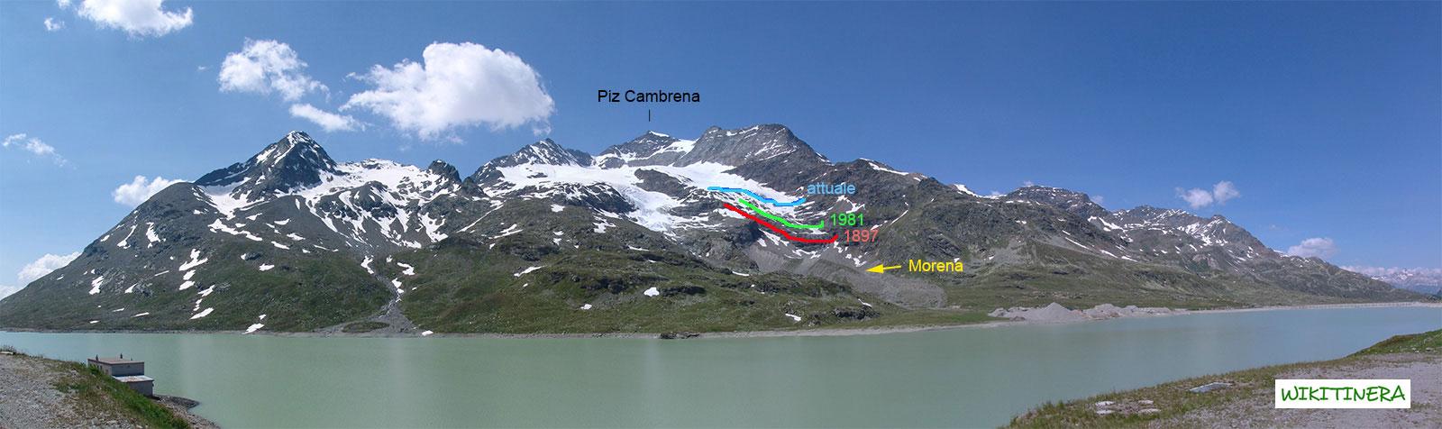 Paesaggio di Piz Bernina