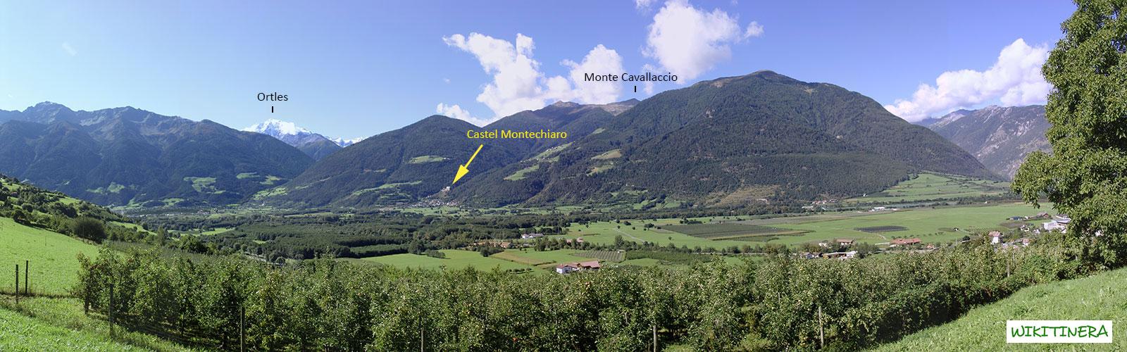 Paesaggio da Castel Coira