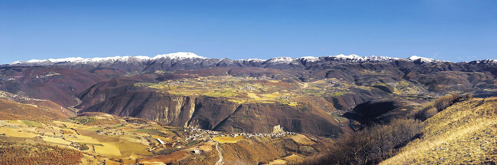 Paesaggio da Monte Maggio