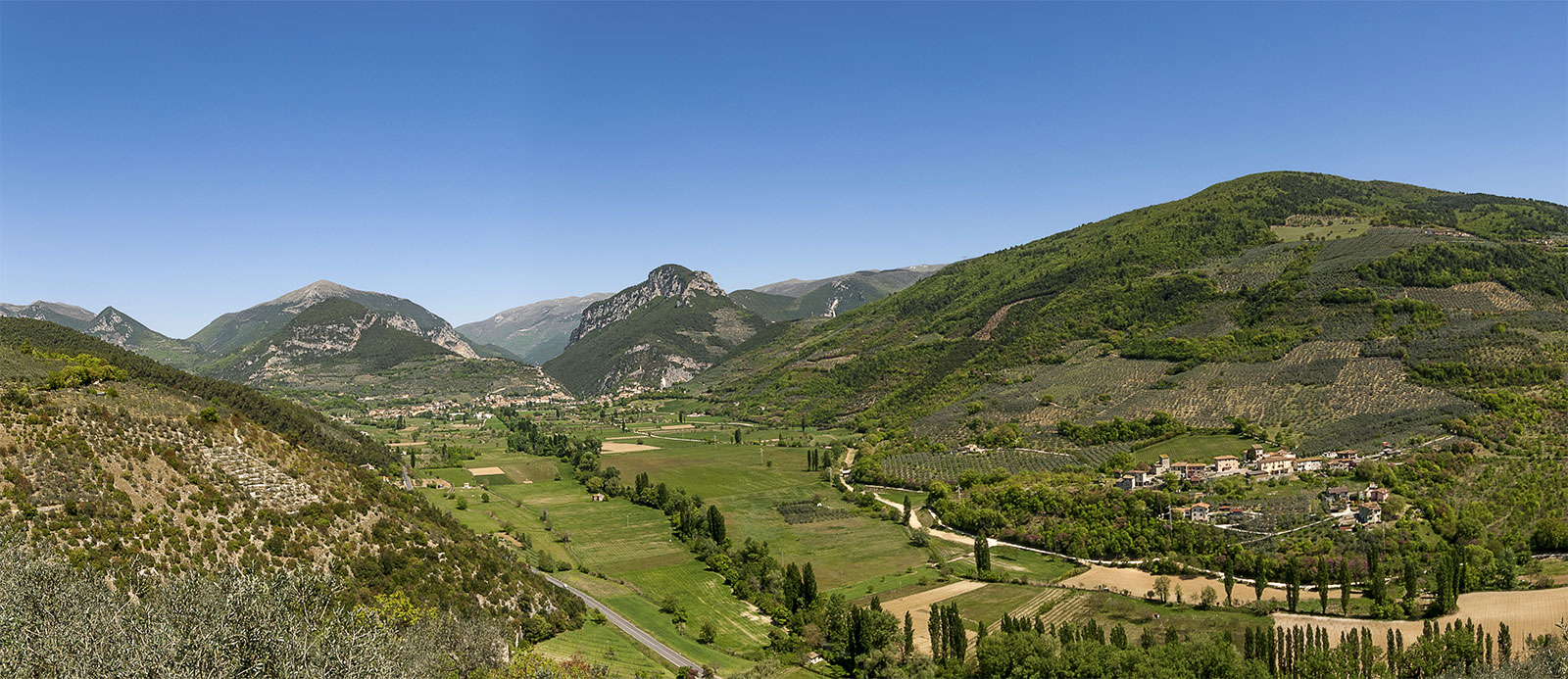 Paesaggio da Montefranco